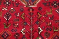 One-of-a-Kind Antique Tribal Shiraz Persian Hand-Knotted 7x10 Wool Area Rug image 18