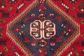 One-of-a-Kind Antique Tribal Shiraz Persian Hand-Knotted 7x10 Wool Area Rug image 17