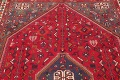 One-of-a-Kind Antique Tribal Shiraz Persian Hand-Knotted 7x10 Wool Area Rug image 15