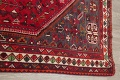 One-of-a-Kind Antique Tribal Shiraz Persian Hand-Knotted 7x10 Wool Area Rug image 14