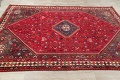 One-of-a-Kind Antique Tribal Shiraz Persian Hand-Knotted 7x10 Wool Area Rug image 1