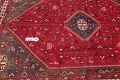One-of-a-Kind Antique Tribal Shiraz Persian Hand-Knotted 7x10 Wool Area Rug image 10