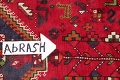 One-of-a-Kind Antique Tribal Shiraz Persian Hand-Knotted 7x10 Wool Area Rug image 9