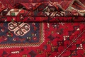 One-of-a-Kind Antique Tribal Shiraz Persian Hand-Knotted 7x10 Wool Area Rug image 7