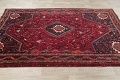 Antique Red Tribal Geometric Qashqai Persian Hand-Knotted 5x8 Wool Area Rug image 14