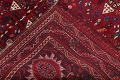 Antique Red Tribal Geometric Qashqai Persian Hand-Knotted 5x8 Wool Area Rug image 20