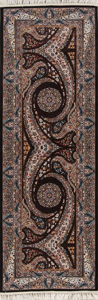 Geometric Oushak Turkish Oriental Runner Rug
