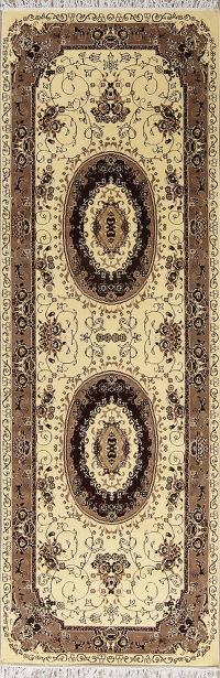 Transitional Aubusson Turkish Oriental Rug