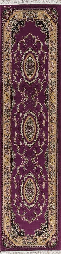 Floral Aubusson Turkish Oriental Rug