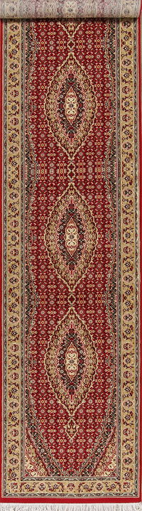 Geometric Bidjar Turkish Oriental Runner Rug