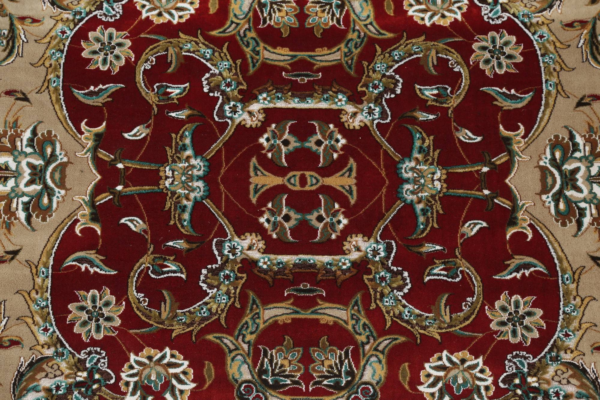 Floral Red Oushak Turkish Oriental 5x7 Area Rug
