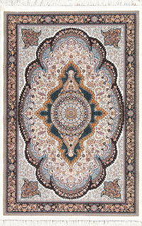 Floral Hereke Turkish Oriental 5x7 Area Rug