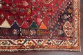 Antique Tribal Red Geometric Abadeh Persian Hand-Knotted 5x8 Wool Area Rug image 15