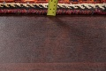 Antique Tribal Red Geometric Abadeh Persian Hand-Knotted 5x8 Wool Area Rug image 20