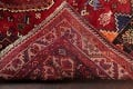 Antique Tribal Red Geometric Abadeh Persian Hand-Knotted 5x8 Wool Area Rug image 22