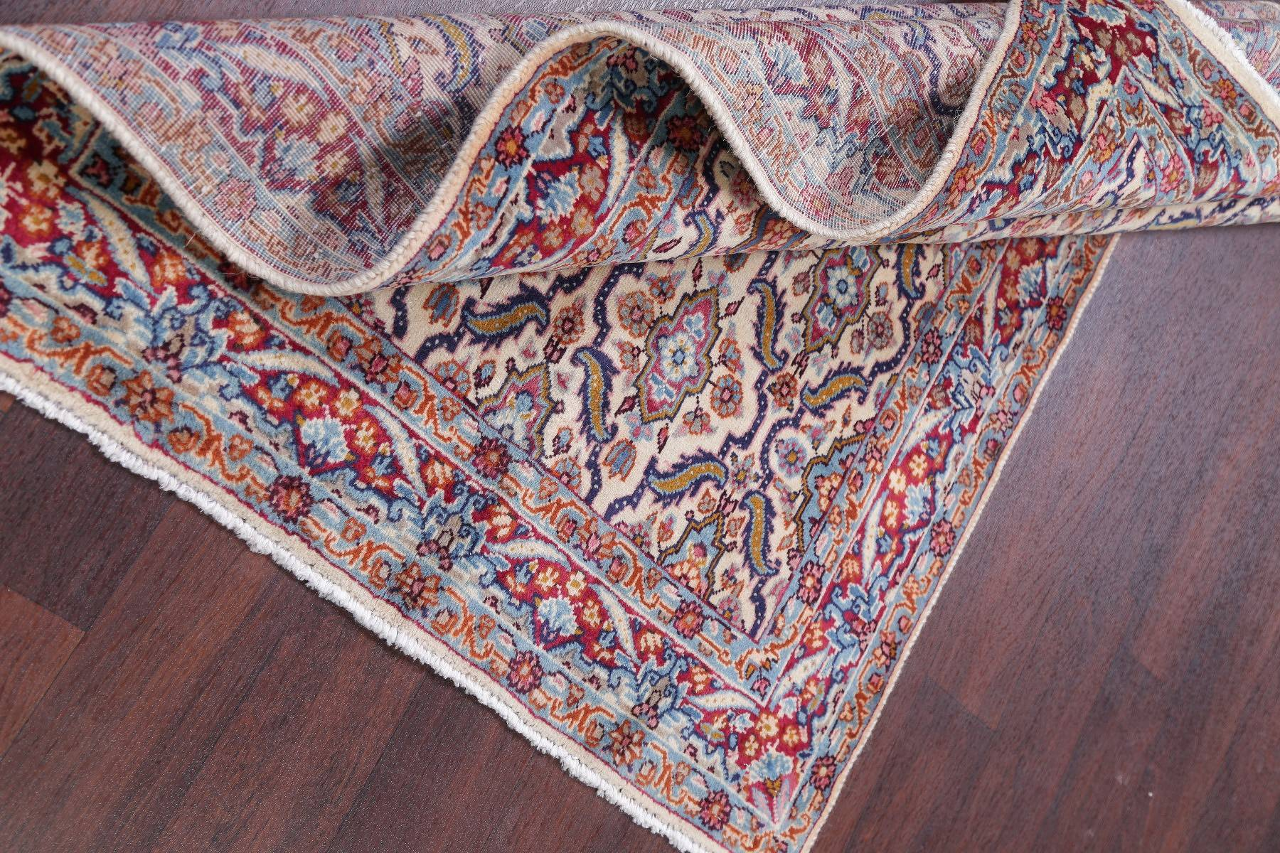 Floral Tabriz Persian Hand-Knotted 3x5 Wool Rug