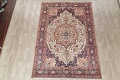 One-of-a-Kind Antique Heriz Serapi Persian Hand-Knotted 7x9 Wool Area Rug image 2