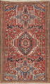 Vegetable Dye Antique Tribal Gharajeh Persian Hand-Knotted 3x5 Wool Rug image 1