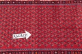 One-of-a-Kind Boteh Botemir Persian Runner Rug 3x13 image 9