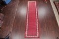 One-of-a-Kind Boteh Botemir Persian Runner Rug 3x13 image 2