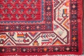 One-of-a-Kind Boteh Botemir Persian Runner Rug 3x13 image 6