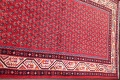 One-of-a-Kind Boteh Botemir Persian Runner Rug 3x13 image 12