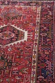 Tribal Red Gharajeh Persian Hand-Knotted 4x11 Wool Runner Rug image 12
