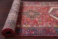 Tribal Red Gharajeh Persian Hand-Knotted 4x11 Wool Runner Rug image 15