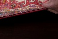 Tribal Red Gharajeh Persian Hand-Knotted 4x11 Wool Runner Rug image 17