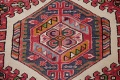 Tribal Red Gharajeh Persian Hand-Knotted 4x11 Wool Runner Rug image 10