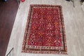 Animal Pictorial Kashkoli Persian Hand-Knotted 7x10 Wool Area Rug image 2