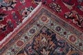 Antique Geometric Mashad Persian Hand-Knotted 10x13 Wool Area Rug image 21