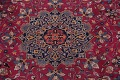 Antique Geometric Mashad Persian Hand-Knotted 10x13 Wool Area Rug image 4