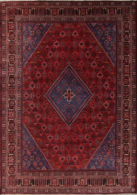 Antique Joshaghan Persian Persian Area Rug 11x14 Large