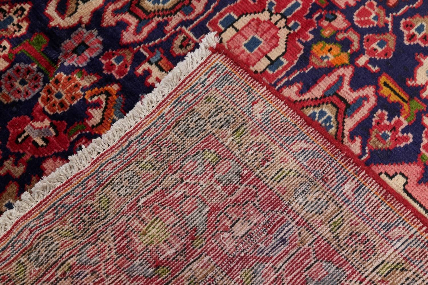 Geometric Sultanabad Persian Hand-Knotted 4x11 Wool Runner Rug image 20