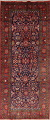 Geometric Sultanabad Persian Hand-Knotted 4x11 Wool Runner Rug image 1
