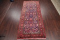 Geometric Sultanabad Persian Hand-Knotted 4x11 Wool Runner Rug image 2