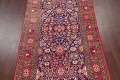 Geometric Sultanabad Persian Hand-Knotted 4x11 Wool Runner Rug image 3