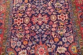 Geometric Sultanabad Persian Hand-Knotted 4x11 Wool Runner Rug image 4