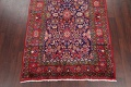 Geometric Sultanabad Persian Hand-Knotted 4x11 Wool Runner Rug image 5