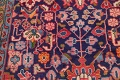 Geometric Sultanabad Persian Hand-Knotted 4x11 Wool Runner Rug image 8