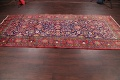 Geometric Sultanabad Persian Hand-Knotted 4x11 Wool Runner Rug image 13