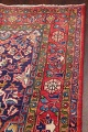 Geometric Sultanabad Persian Hand-Knotted 4x11 Wool Runner Rug image 14