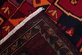 Antique Geometric Lori Persian Hand-Knotted 4x13 Wool Runner Rug image 22