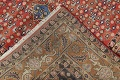 Geometric Red Ardebil Persian Hand-Knotted 6x10 Wool Area Rug image 19