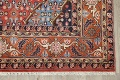 Geometric Red Ardebil Persian Hand-Knotted 6x10 Wool Area Rug image 6