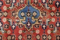 Geometric Red Ardebil Persian Hand-Knotted 6x10 Wool Area Rug image 10