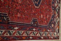 Antique Tribal Qashqai Persian Hand-Knotted 7x10 Wool Area Rug image 13