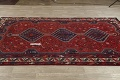 Antique Tribal Qashqai Persian Hand-Knotted 7x10 Wool Area Rug image 11