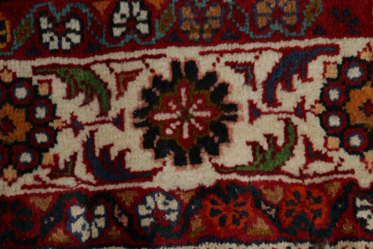 Animal Pictorial Kashkoli Persian Hand-Knotted 7x9 Wool Area Rug image 10